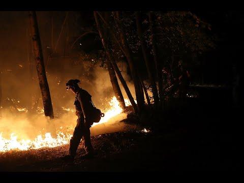 SONOMA VALLEY FIRE: Raw video of Saturday morning firestorm in Sonoma Valley neighborhood