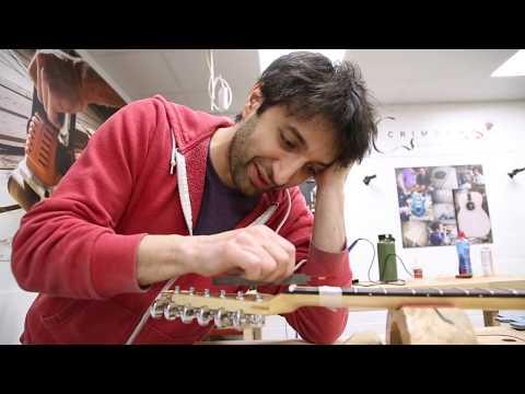 April Wilkerson & Matt Cremona Custom Electric Guitar Build - DAY 5