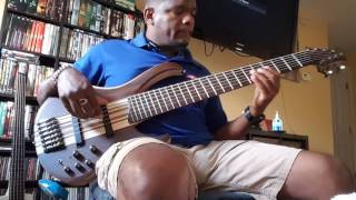 "Machel Montano - Temperature "" bass cover"""