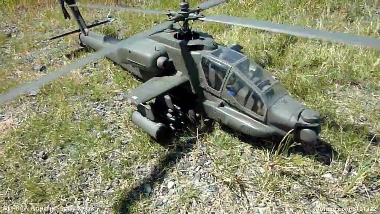 R/C AH-64 Apache Helicopter - Sweet!