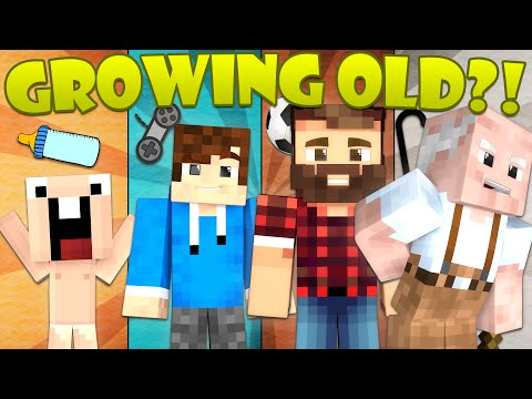 Thumbnail: If You Could Age in Minecraft