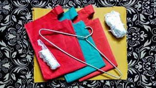 How to make a Wall Hanging Organizer with hidden compartment