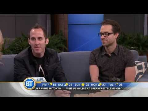 Simple Plan Interview @ Breakfast Television Toronto (2014)