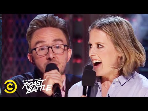 A Husband and Wife Roast Each Other - Joe List vs. Sarah Tollemache - Roast Battle