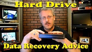 Hard Drive Data Recovery Advice - Ask a Tech #28
