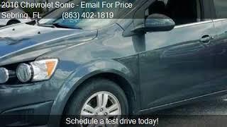 2016 Chevrolet Sonic LT Auto 4dr Hatchback for sale in Sebri
