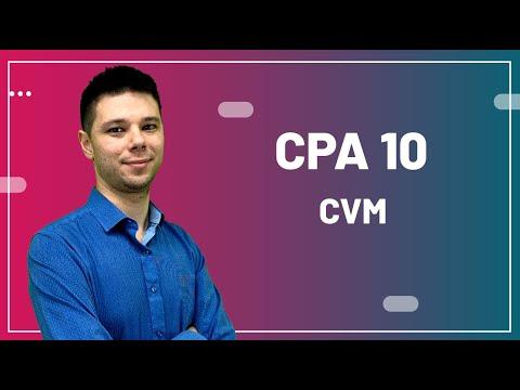 CPA 10 - Aula 05 - CVM (Comissão de Valores Mobiliários)