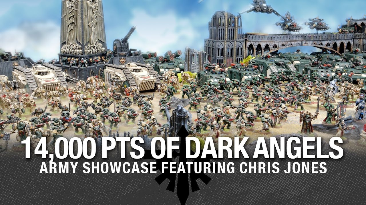 Army Showcase! - Heretics or Heroes? 14,000 points of 40k Dark Angels Army Showcase.