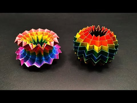 Origami: MAGIC BALL - Yakomoga EASY Origami tutorial