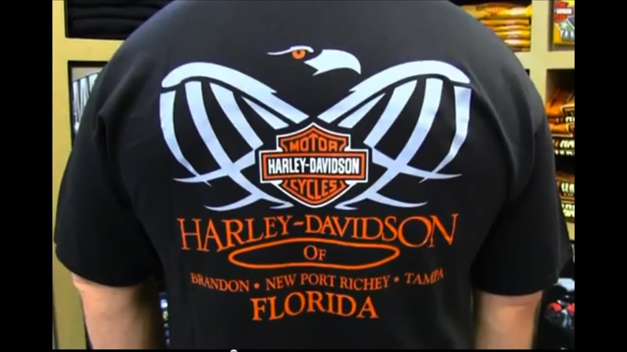 Harley Davidson Tee Shirts for Sale Florida - YouTube