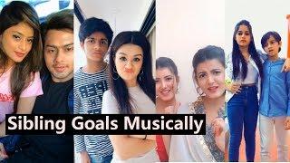 Sibling Goals Musically | Janaat Ayaan Zubair, Awez Anam Darbar, Avneet Kaur, Nagma