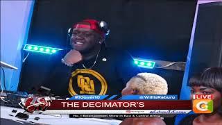 10 OVER 10 |Decimators perform their song 'Drinx na Mayenx' live