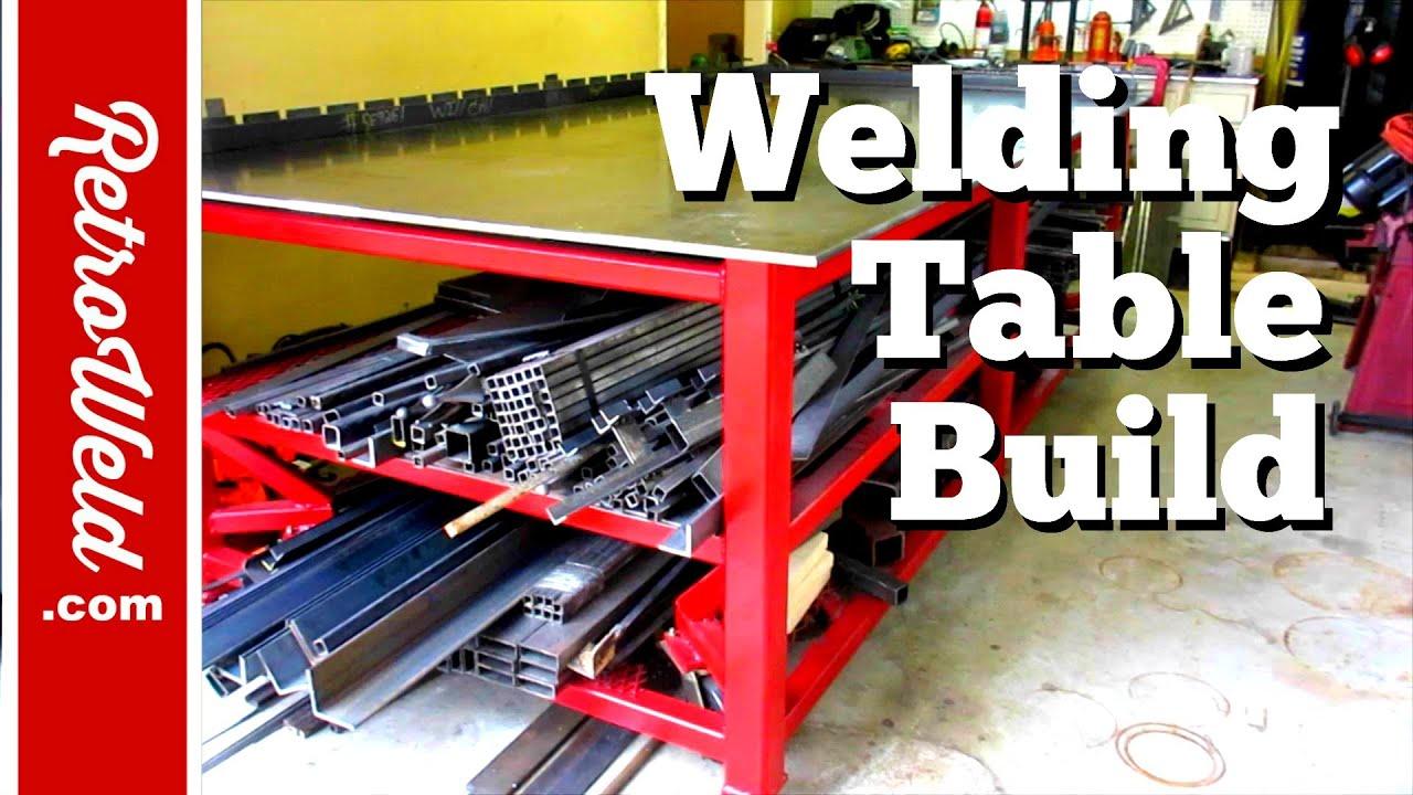 Welding Table Build Youtube