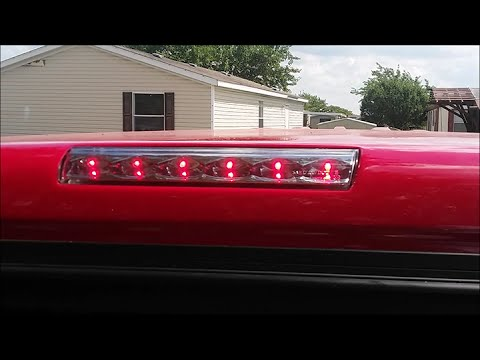 Verne's Misadventures: Third Brake Light Replacement on a Leer Camper Shell  YouTube