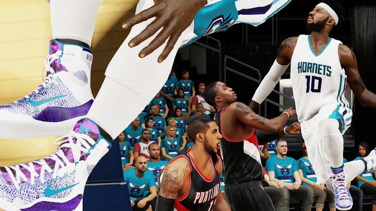 NBA 2k15 MyCAREER Gameplay FINALS GM3 - Serious Poster Dunk by Hometown Hero - Custom Kobe 9 ...