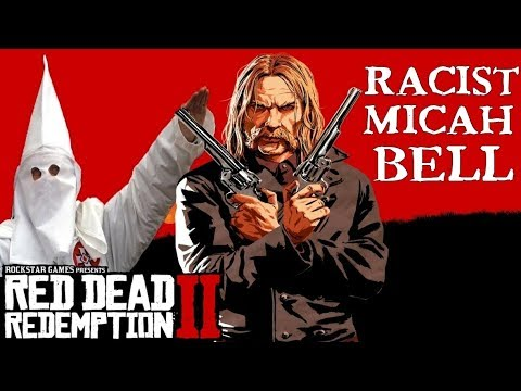 Red Dead Redemption 2 | All of Micah's Racist Actions Compilation thumbnail