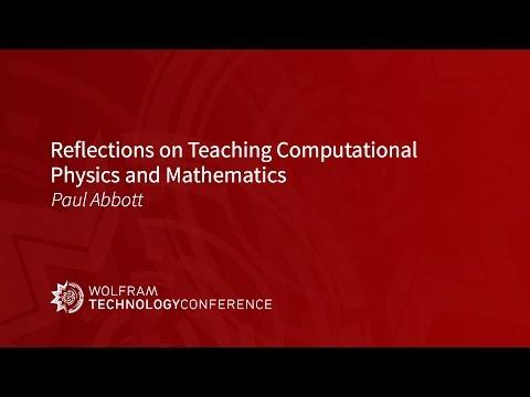 Reflections on Teaching Computational Physics and Mathematics