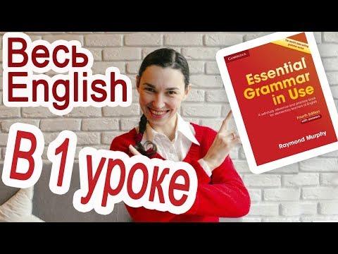 Весь английский за 2 часа! Урок-шпаргалка по книге Красный Murphy | Английский язык с нуля