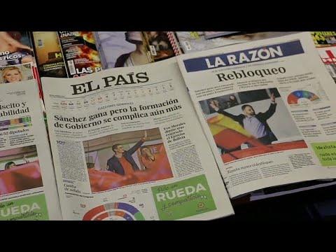 Legislativas: Espanhóis cansados de impasse político