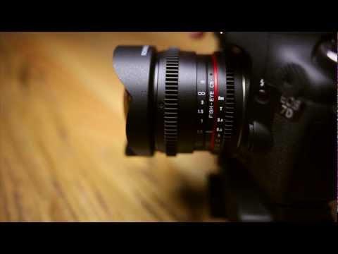 Rokinon 8mm Cine Lens Review