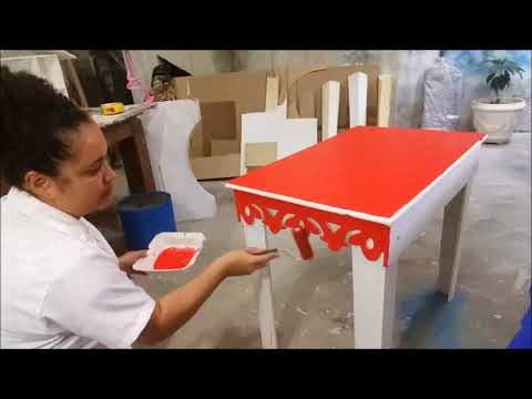 Como mudar a cor da sua mesa de forma fácil e rápida!