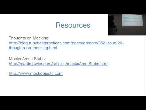 Better tests with mocking and stubbing par Michel Pigassou