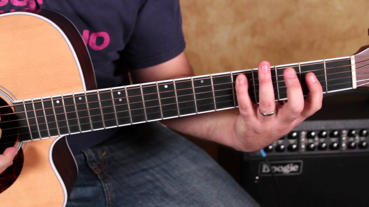 Easy Guitar Chords Inspired By Rhcp Dmb Beatles And More Basic