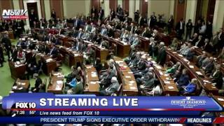 FNN: Gov. Mark Dayton COLLAPSES During State of the State Addres
