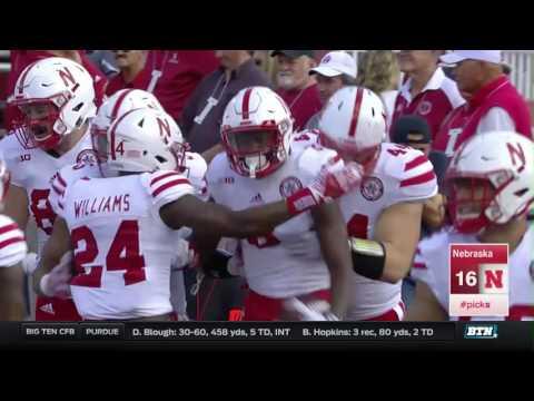 Nebraska at Indiana - Football Highlights