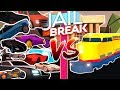 ROBLOX JAILBREAK | TRAIN VS. CAR | HUGE PILE UP EVERY VEHICLE WITH FANS