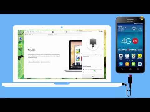 How to Transfer Music from Huawei Ascend G620S to iTunes Library on PC?