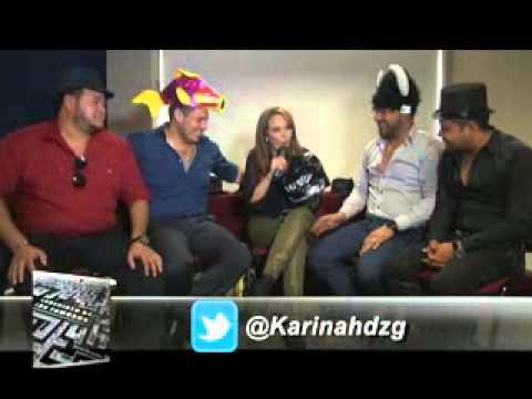 Banda MS Entrevista Karina Hernandez Laberinto de los Famosos