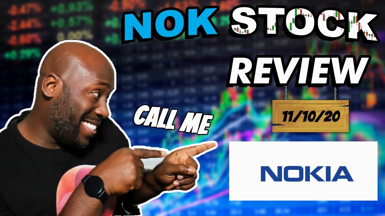 Nokia Stock Review NOV 10 | 5G Is The Future ?