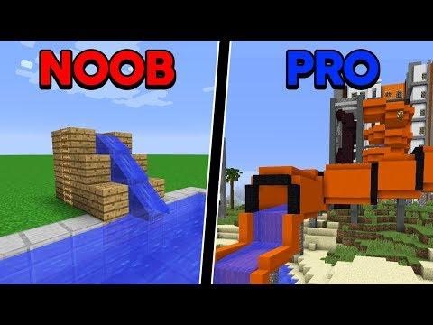 Batalha de Construção: TOBOÁGUA DE NOOB VS TOBOÁGUA DE PRO!