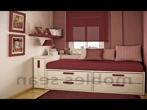 Hot 60 + Small Bedroom Space-saving Ideas Design Ideas 2018 - Home Decorating Ideas