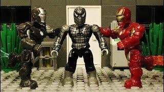 *MEGA BLOKS* Spiderman vs Iron Man 8