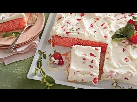 Strawberry Sheet Cake Southern Living