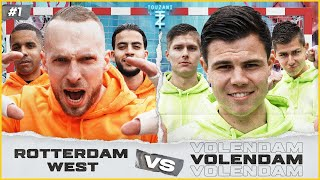 Rotterdam WEST vs Volendam | StreetCaptains #1
