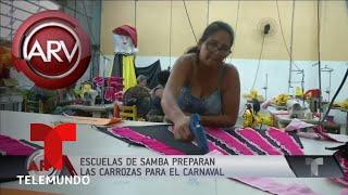 Alistan los útimos detalles para el Carnaval de Río  | Al Rojo Vivo | Telemundo