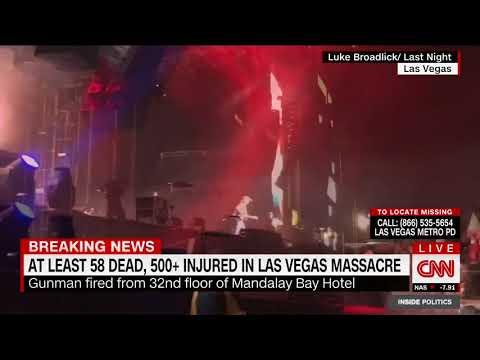 Las Vegas shooting update: At least 58 dead, no international terror links