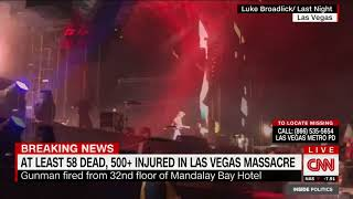 Las Vegas shooting update: At least 58 dead, no international terror links