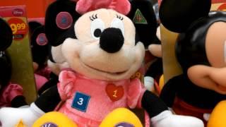 Mickey & Minnie Mouse Sleepy Time Pals New 2012 Plush Toys