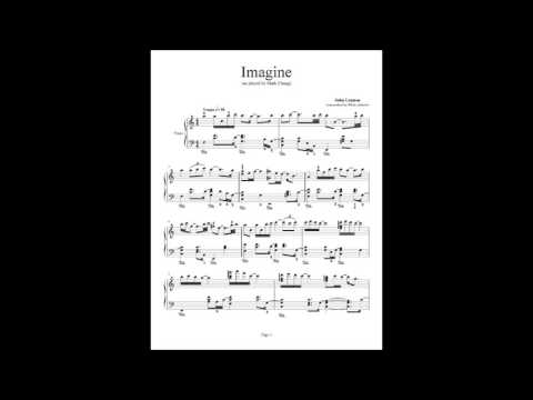 Imagine - John Lennon (piano solo)