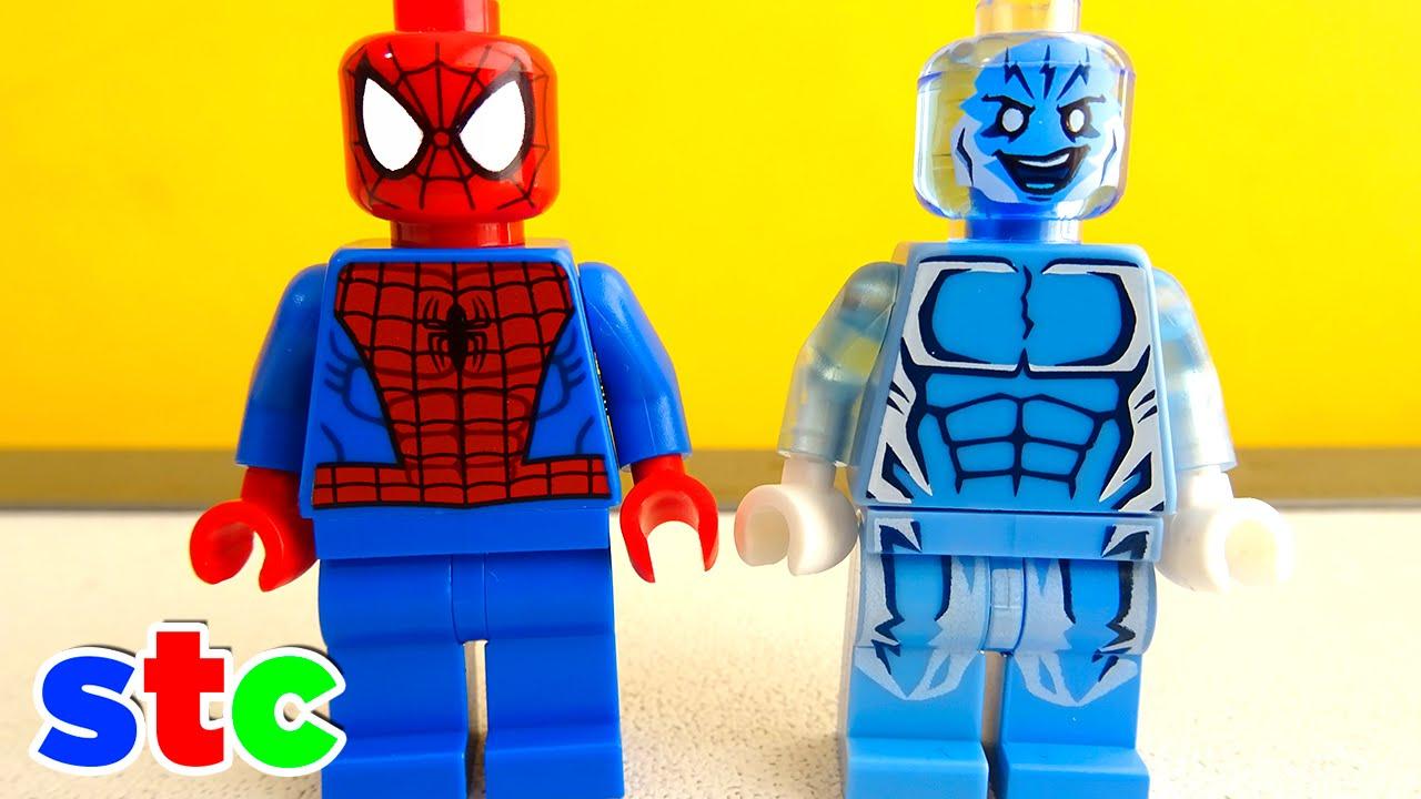 Lego Marvel Superheroes Ultimate Spiderman Vs Electro