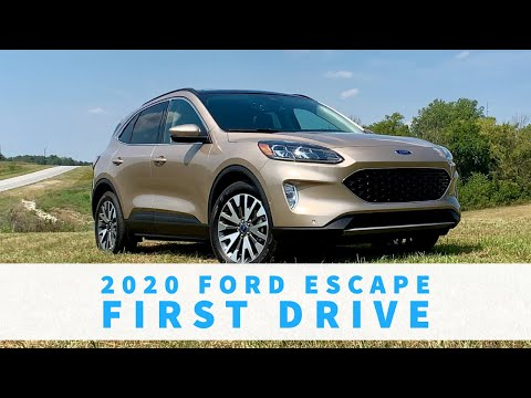 2020 Ford Escape First Drive Review: 2nd Row & Cargo
