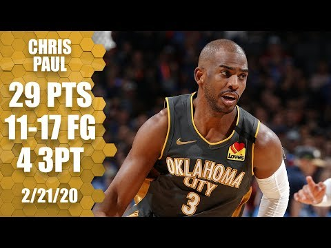 Chris Paul's clutch 29-point performance in Thunder vs. Nuggets | 2019-20 NBA Highlights