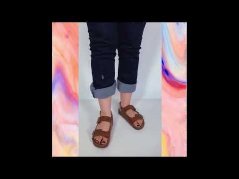 BIRKEN ankle - marrom rústico