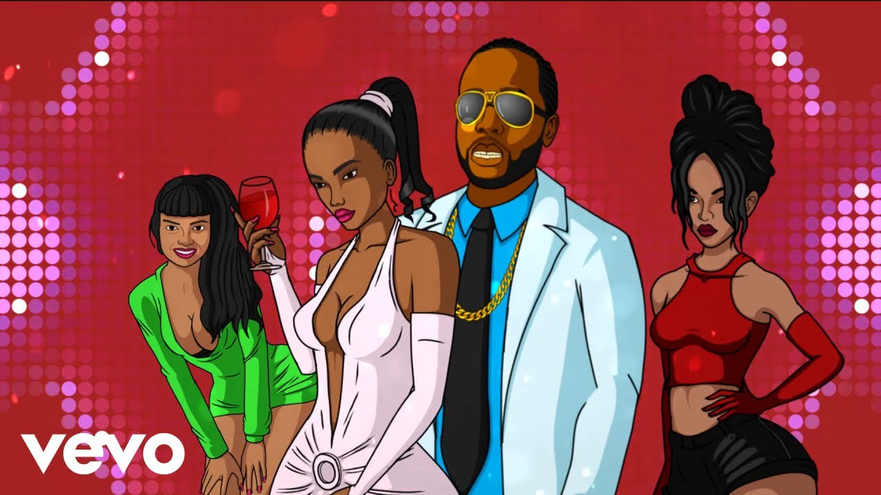 Teejay, Beenie Man - UpTop Party (Official Animated Video)
