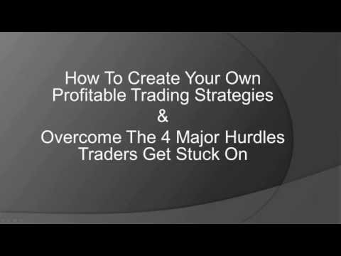 How to Build Your Own Winning Trading Strategy
