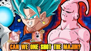 IS IT POSSIBLE TO ONE SHOT THE NEW MAJIN BUU FIGHT!? | DRAGON BALL Z DOKKAN BATTLE
